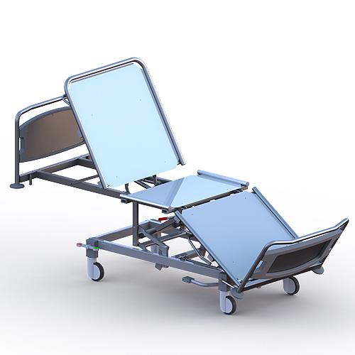 Кровать медицинская функциональная секционной конструкции «Ставро-Мед» по ТУ 9452-002-51105893-2011. КФ 280