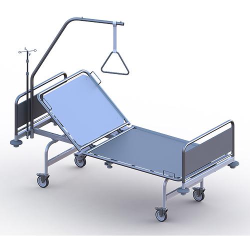 Кровать медицинская функциональная секционной конструкции «Ставро-Мед» по ТУ 9452-002-51105893-2011. КФ 112