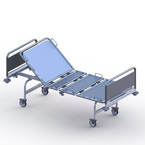Кровать медицинская функциональная секционной конструкции «Ставро-Мед» по ТУ 9452-002-51105893-2011. КФ 114