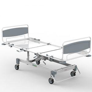 Кровать медицинская многофункциональная 3-х секционная пневматическая КММп N4-001