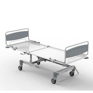 Кровать медицинская многофункциональная 2-х секционная пневматическая КММп N2-001
